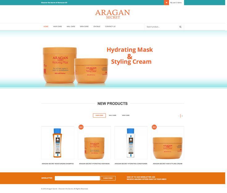 Aragan Secret Website