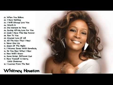 Whitney Houston greatest hits full album 2015 Best songs of Whitney Houston - YouTube