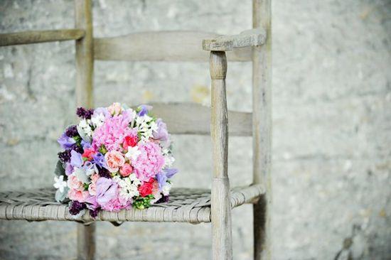 Letnie bukiety ślubne
