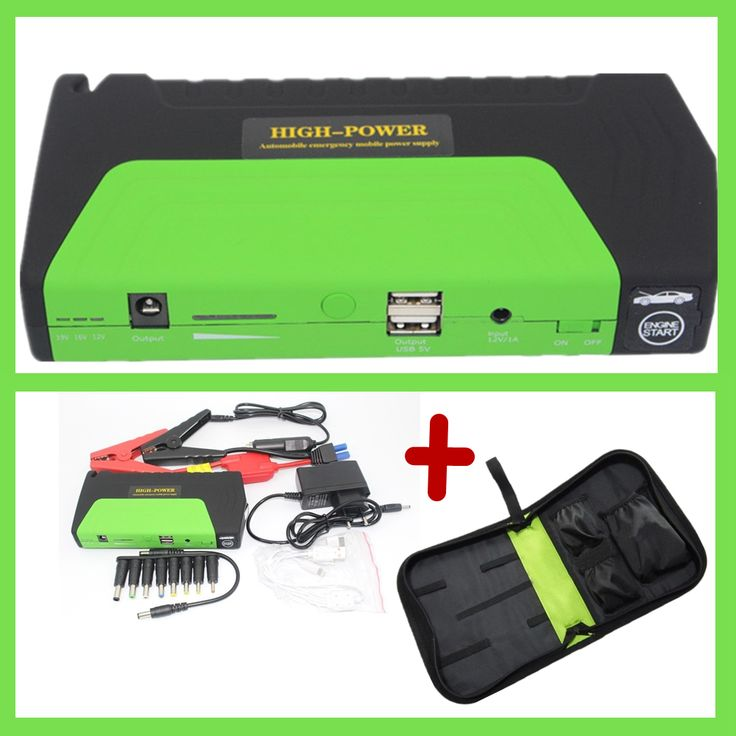Ikeacasa Batería Batteria Batterie multi function diesel power bank 50800mAh MINI Portable car jump starter start booster 12V car charger2USB