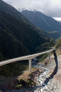 Otira Viaduct, Arthurs Pass, South Island, New Zealand. One of my favorite drives