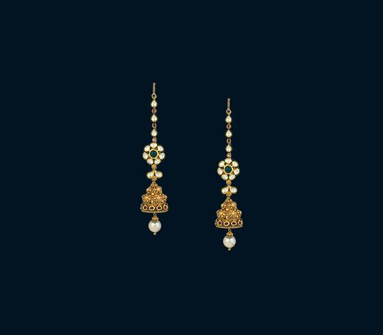 indian gold earrings designs                                                                                                                                                                                 More