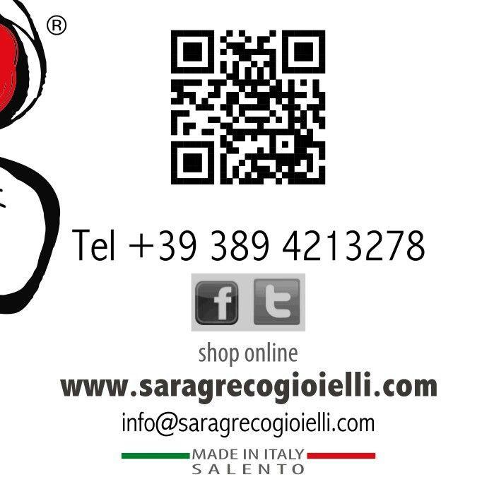 Chi è #saragrecogioielli ?;)Scoprilo qui: http://www.saragrecogioielli.com/index.php?route=information/information&information_id=4 #sgg #handmade #artigianato #madeinitaly