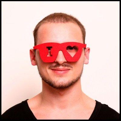 Unisex Pub/Party Felt Glasses (Ilove)
