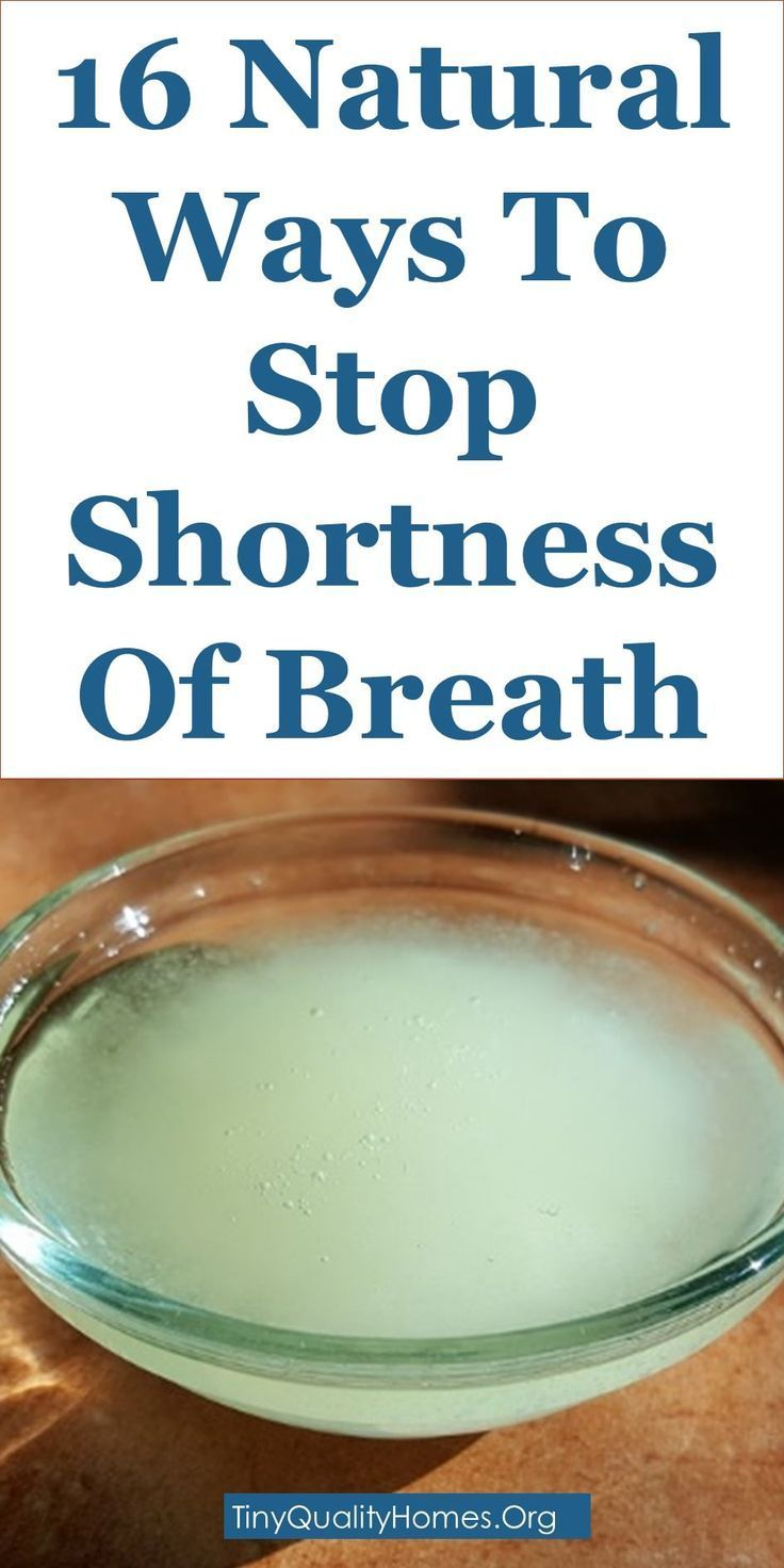 16 Natural Ways To Stop Shortness Of Breath
