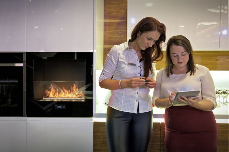 Chili Fire by Planika - fireplace for kitchen
