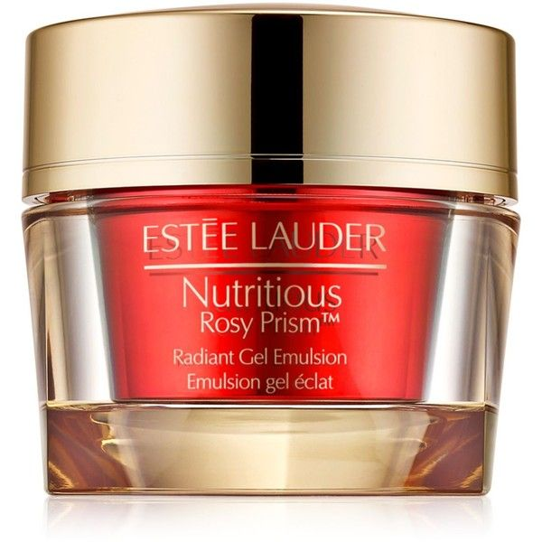 Estee Lauder Nutritious Rosy Prism Radiant Gel Emulsion, 1.7 oz (5,035 INR) ❤ liked on Polyvore featuring beauty products, skincare, face care, no color, estee lauder skincare, estée lauder and estee lauder skin care