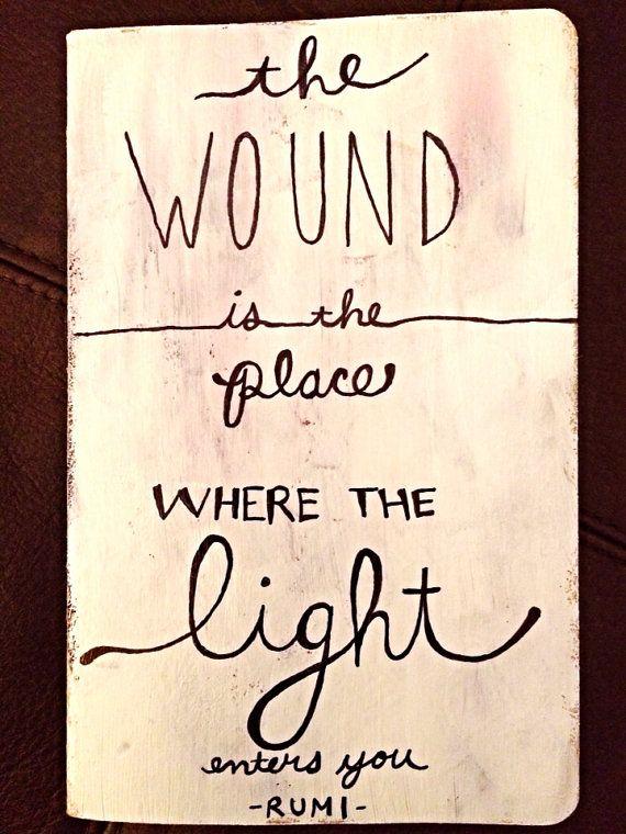Rumi Quote Squared Moleskine Notebook