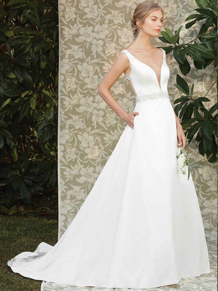 Casablanca Bridal - Das Designer-Brautkleider-Label aus Kalifornien ist in Deutschland exklusiv bei hochzeitsrausch Brautmoden in Köln erhältlich!