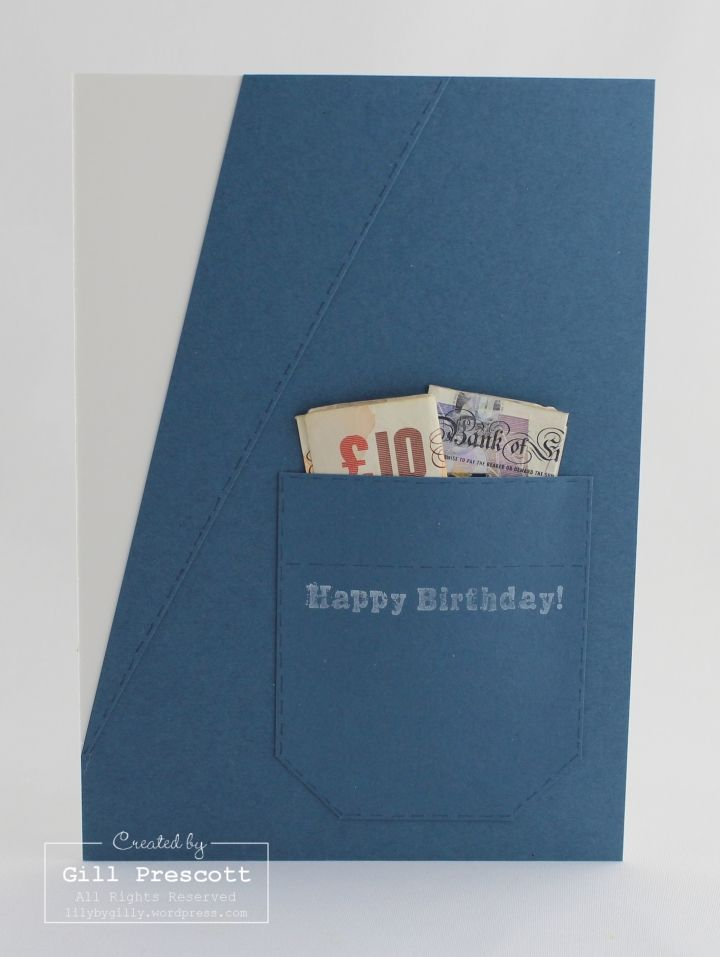 Masculine birthday card and present rolled into one
