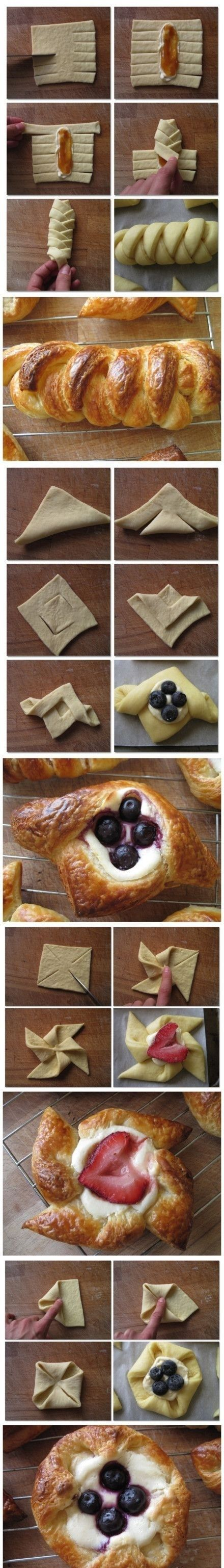 How to fold puff pastry