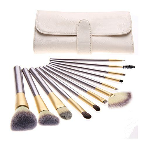 12 pcs Professional Makeup Cosmetics Brushes Set Kits with White Cream-colored Case Bag Unimeix http://www.amazon.com/dp/B00SSLK0UI/ref=cm_sw_r_pi_dp_-KBvvb0JPK6WE