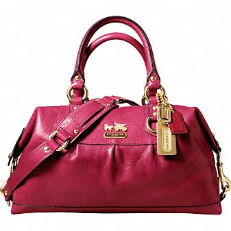 Coach Sabrina satchel from Madison collection
