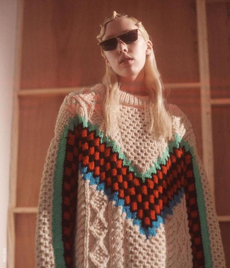 166 best knitwear images on Pinterest | Ponchos, Knitwear and ...