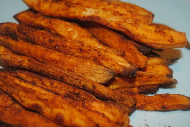 Ditch the standard chips with these easy to make hot and spicy crispy sweet potato fries    You can easily make these in advance and freeze them
