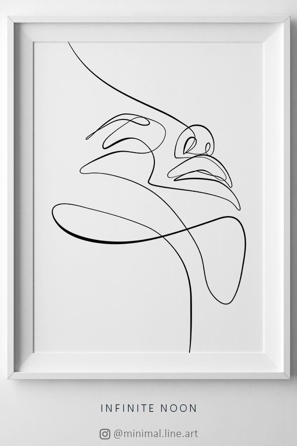 Facial Expression Line Art Abstract One Line Sketch Minimalist Wall Art Single Line Illustration Minimal Lin Line Art Drawings Line Art Minimalist Wall Art