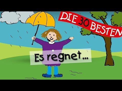 Es regnet - Die besten Kindergartenlieder || Kinderlieder - YouTube