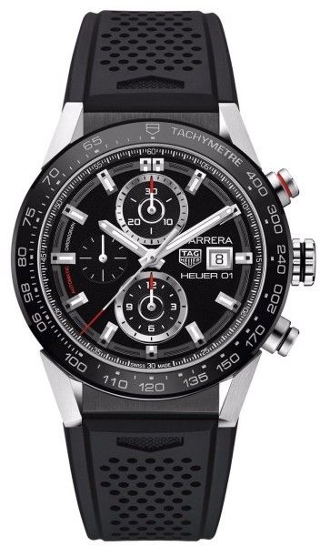 Tag Heuer Tag Carrera car201z.ft6046 Stainless Steel Caliber 01 43mm Watch