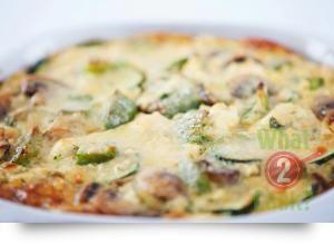 Fabulous Frittata, Capsicums, Zucchini, Mushrooms and Ricotta | What2Cook