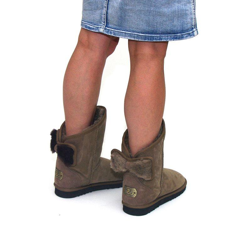 http://www.uggbootsmadeinaustralia.com.au/Shearling-Bow-Melba-Ugg-Boots-Mashroom.aspx