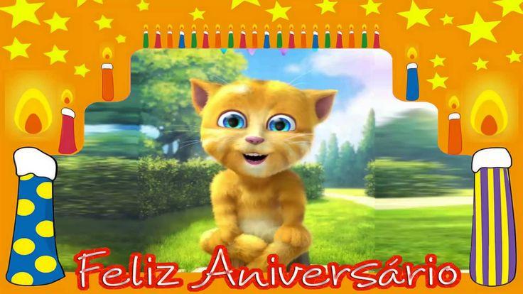 Parabéns pra você !  Feliz Aniversário |  Video mensagem de aniversário ...