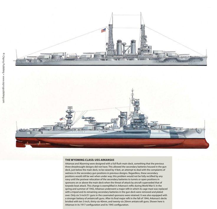 USS Wyoming - Wyoming Class Battleship