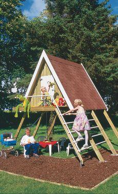 Luxury Spielhaus auf Stelzen bauen