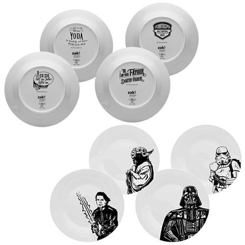 Star Wars Classic Dinner Plate Set