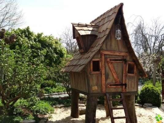 cabane pour enfant images