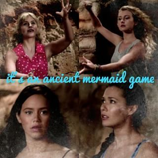 It's an ancient mermaid game
