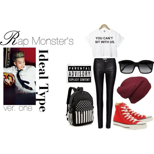Rap monster ideal type clothing