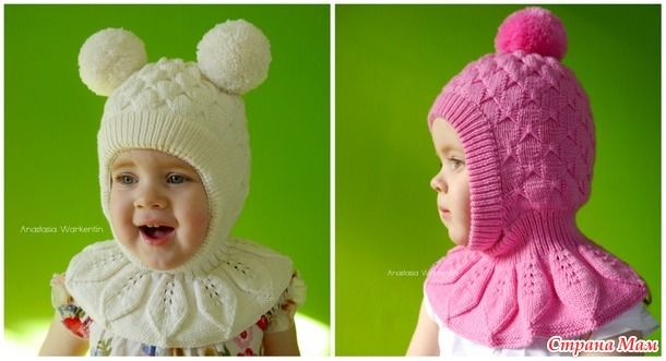 Идея шапки была найдена в интернете без описания, поэтому все расчеты и схемы сделаны и найдены самостоятельно. Узор «Бабочки» подходит больше для девочек, но его можно легко заменить.