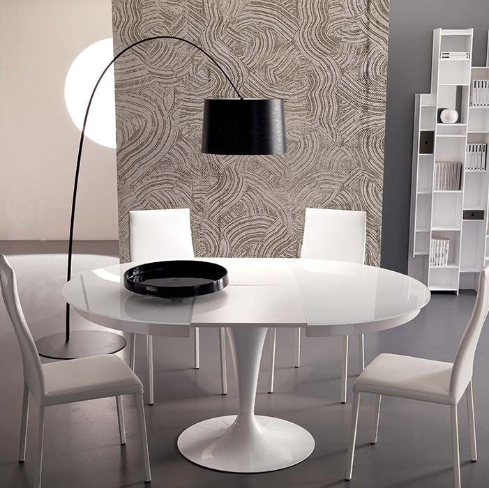 Dining Table / Contemporary / Metal / Melamine T310 ECLIPSE By Studio Ozeta  OZZIO ITALIA