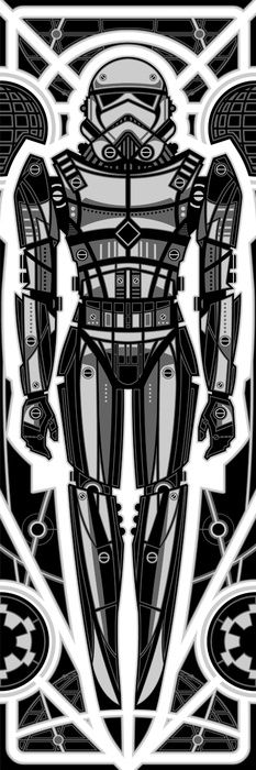 Stormtrooper -   Fabled Creative - Digital.  Deco Robot Series °°