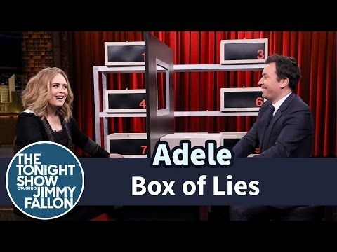 """Adele Lies To Jimmy Fallon And And Sings """"Water Under The Bridge"""" On """"The Tonight Show"""" - http://oceanup.com/2015/11/24/adele-lies-to-jimmy-fallon-and-and-sings-water-under-the-bridge-on-the-tonight-show/"""