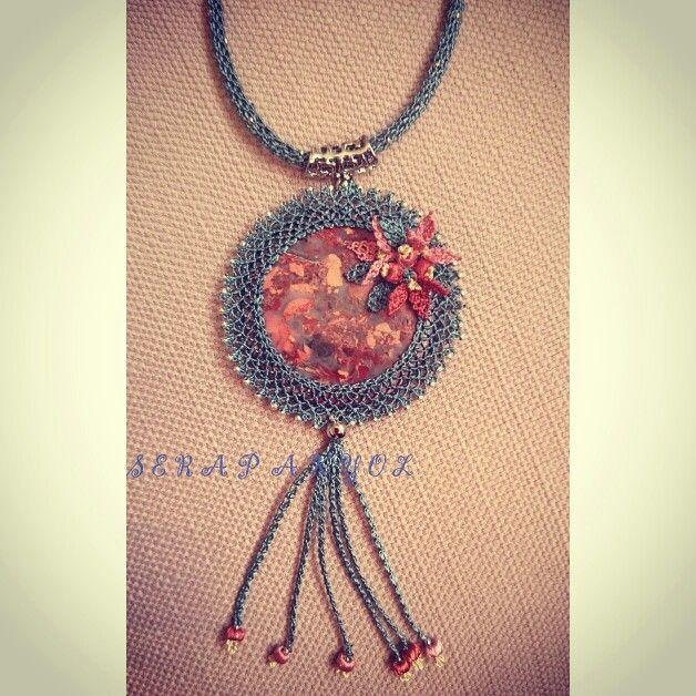 #kolye#necklace#iğneoyaları#iğneden#elişleri