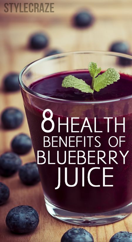 8 Amazing Health Benefits Of Blueberry Juice : So here you go! The top benefits of blueberries that would undeniably make you grab a cup and start munching. Because these aren't just berries, but a mix of magic and marvel that is a gift from heaven!
