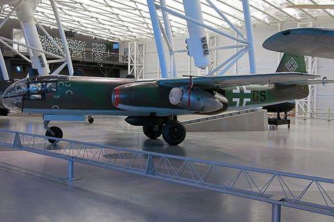 Arado Ar 234 B-2 at the National Air and Space Museum's Steven F. Udvar-Hazy Center