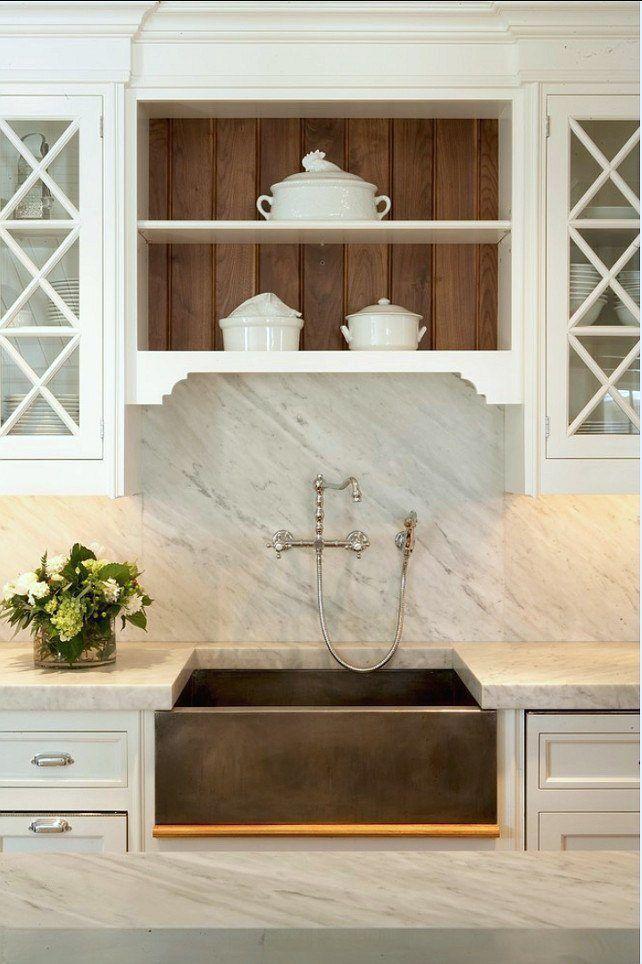 Kitchen.-Kitchen-Design.-Kitchen-Design-Ideas.-White-Kitchen-Design.-Kitchen-with-Carrera-Marble-Backsplash-Countertop-shor-home-