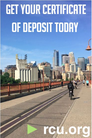 Our Certificate of Deposits have some of the best rates around. Don't miss out!