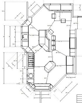 1000 images about kitchen floor plans on