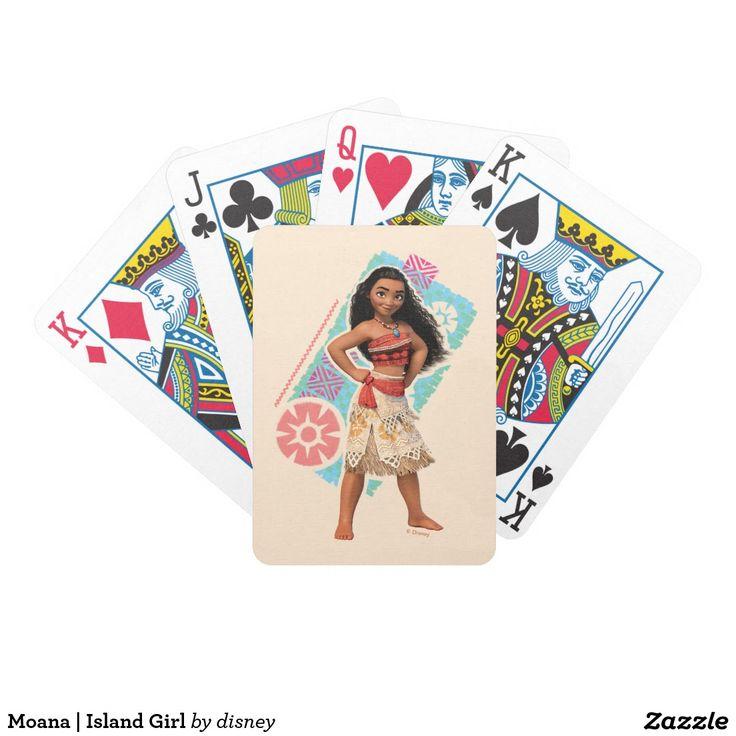 Moana | Island Girl Bicycle Playing Cards