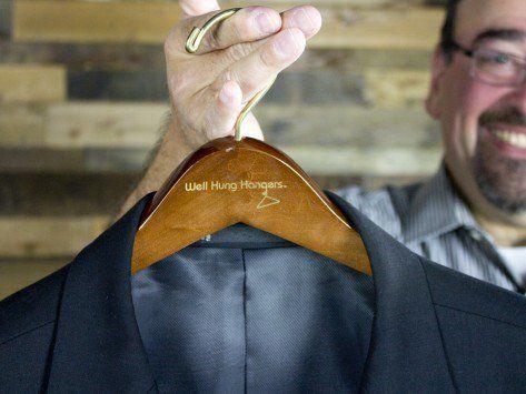 Well Hung: Men's Big & Tall Clothing Hangers