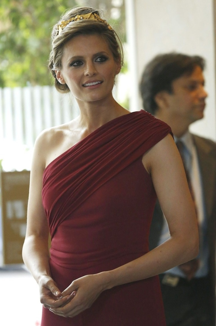 My favourite photo of Stana from the Women in Film Crystal + Lucy Awards