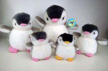 Супер мило 8 см корея toyclub пингвин плюшевые игрушки, пингвин чучела животных игрушки для детей плюшевый пингвин брелок сумка кулон