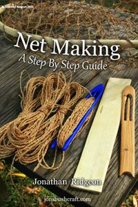 LOTS of bushcraft skills here! Net making, not only for fishing, but can be used for enclosures for birds or to catch them. Articles and Tutorials- jonsbushcraft.com