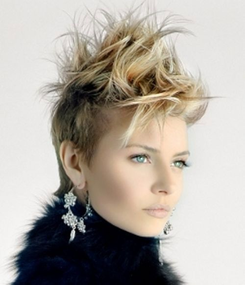 monica short hairstyles 2014 30 funky short spiky hairstyles for women cool trendy