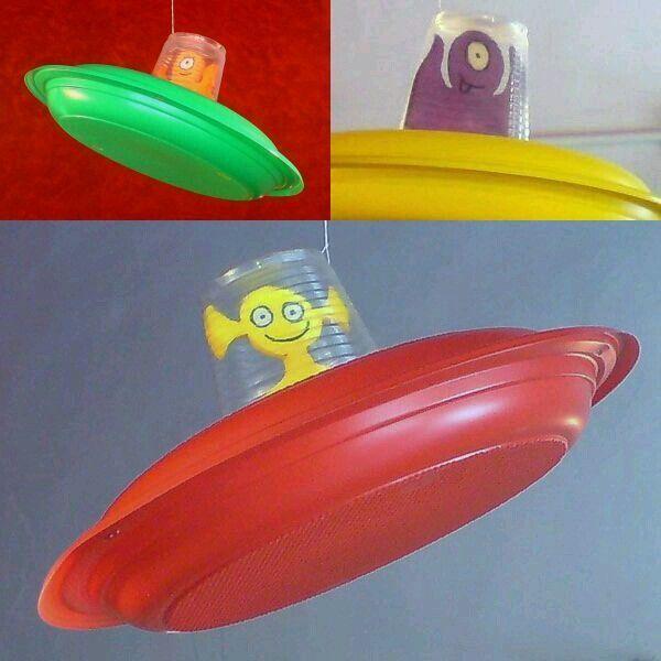 UFO Paper Craft