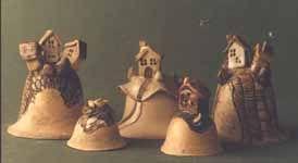 JETTO keramika - Ruční keramické výrobky - ZVONKY