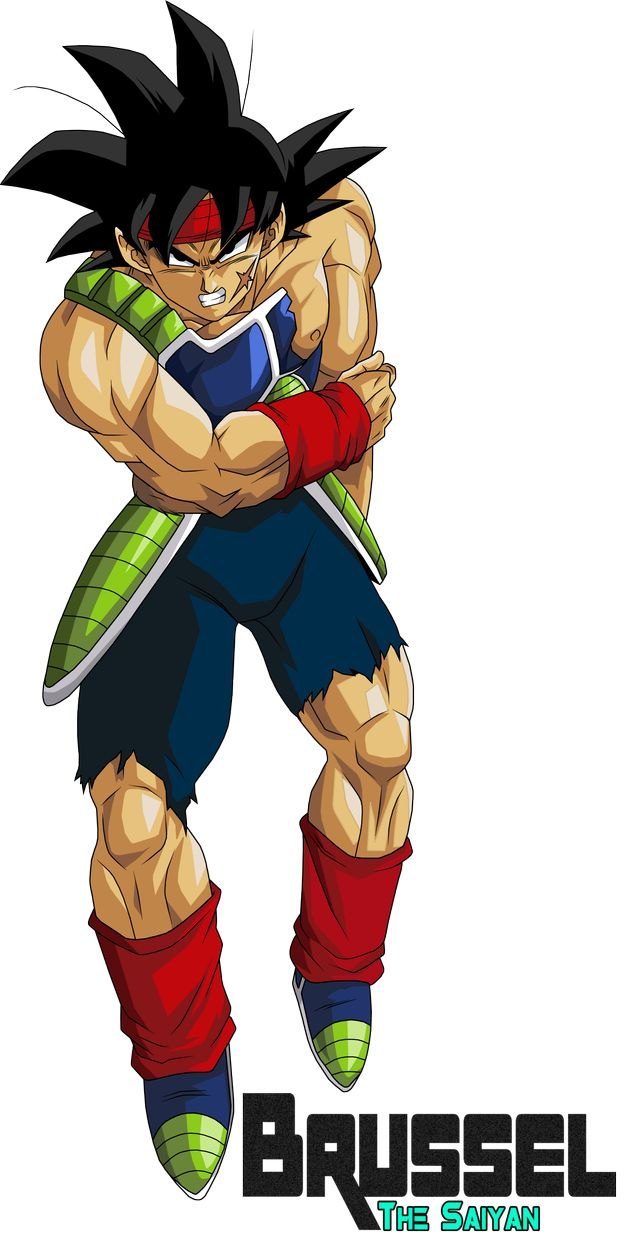 Bardock Father of Goku (Version 1) by BrusselTheSaiyan on DeviantArt